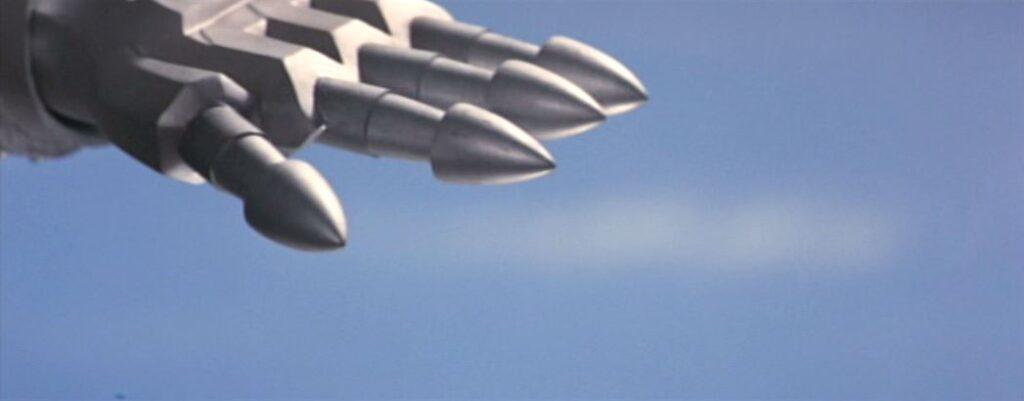 メカゴジラのフィンガーミサイル