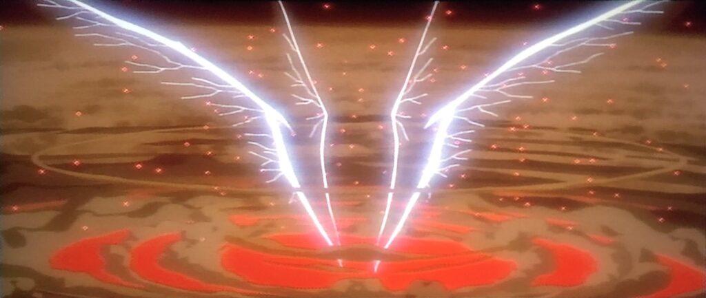 「光の巨人」の巨大な翼