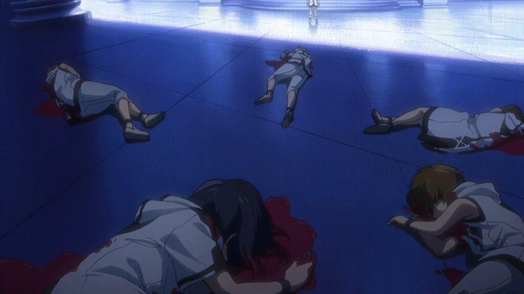 『終わりのセラフ』の第1話から地獄絵図…ミカエラたちは脱出計画に気付いた吸血鬼たちの手にかかって死亡…。