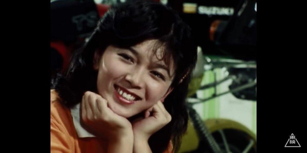 『仮面ライダースーパー1』の「草波ハルミ」役:田中由美子