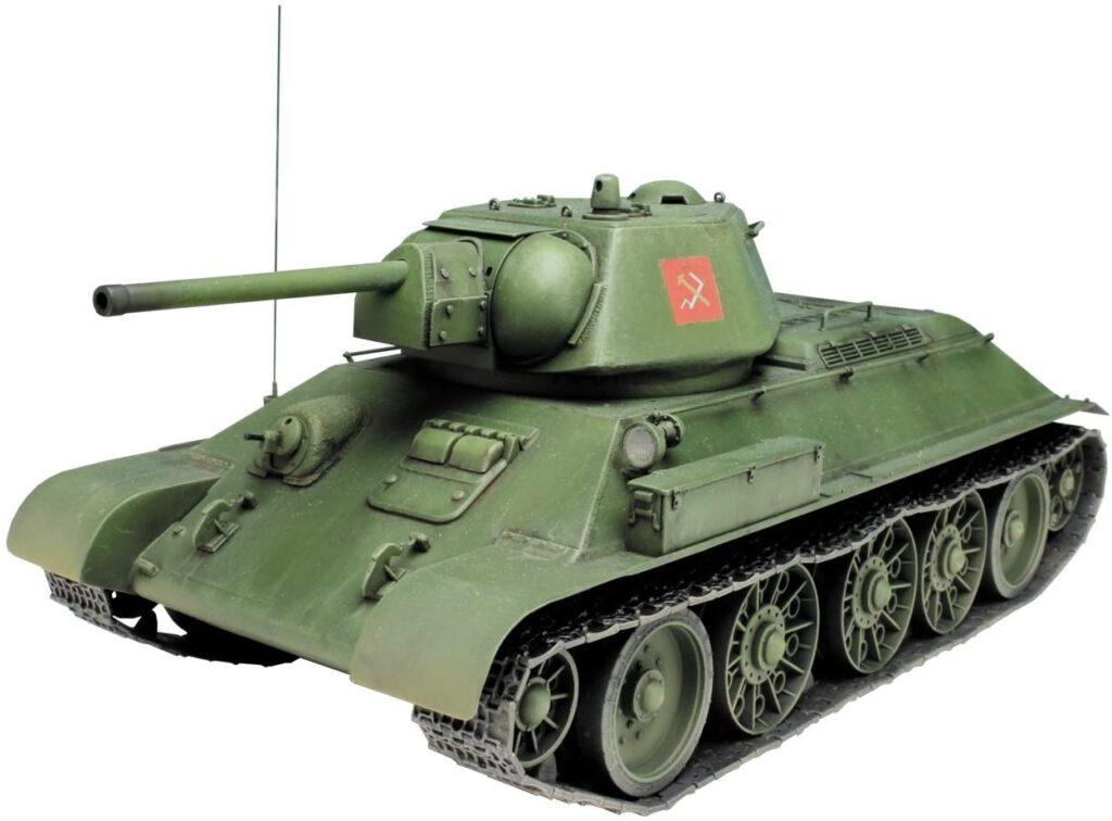 プラッツ 1/35 ガールズ&パンツァー劇場版 T-34/76 プラウダ高校