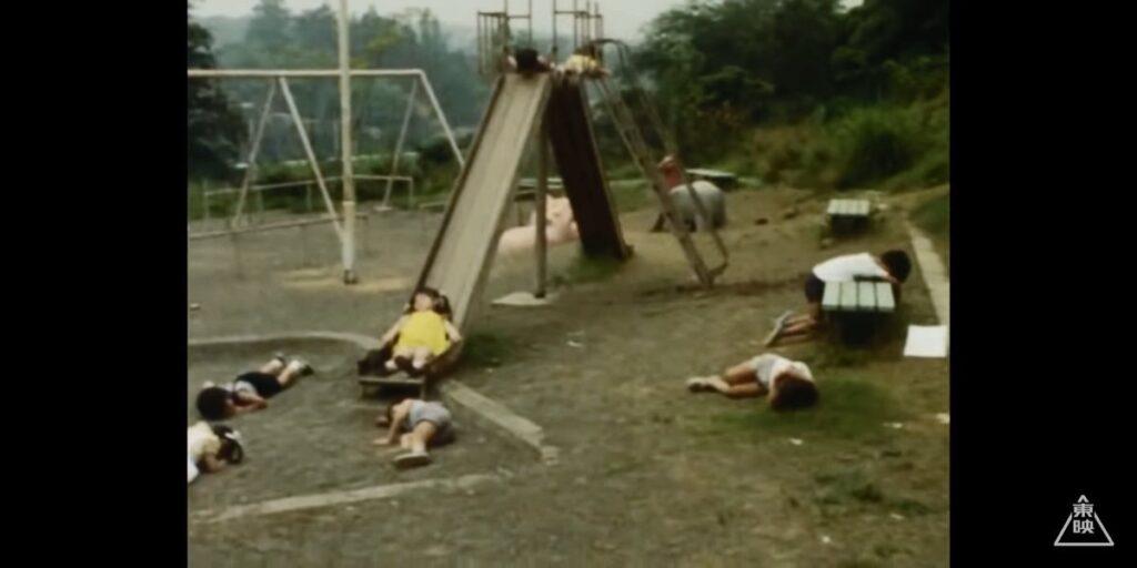 公園で遊んでいた子供たちがギラードガンマーの犠牲に…。