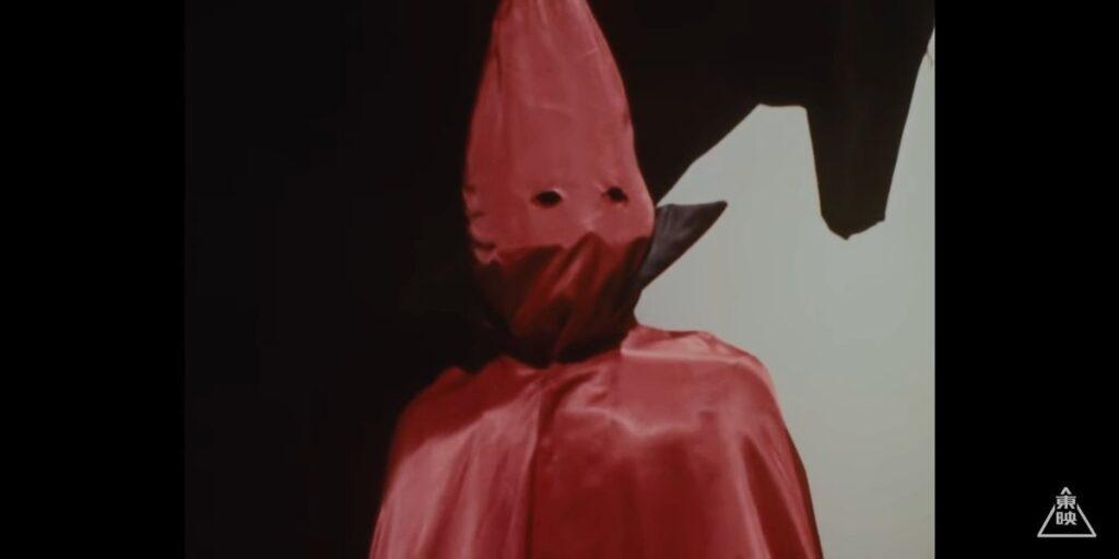赤いフード姿のゲルショッカー首領