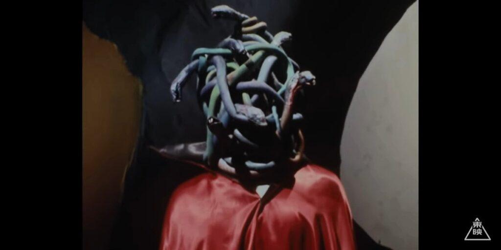 無数の蛇をまとっている形態のゲルショッカー首領