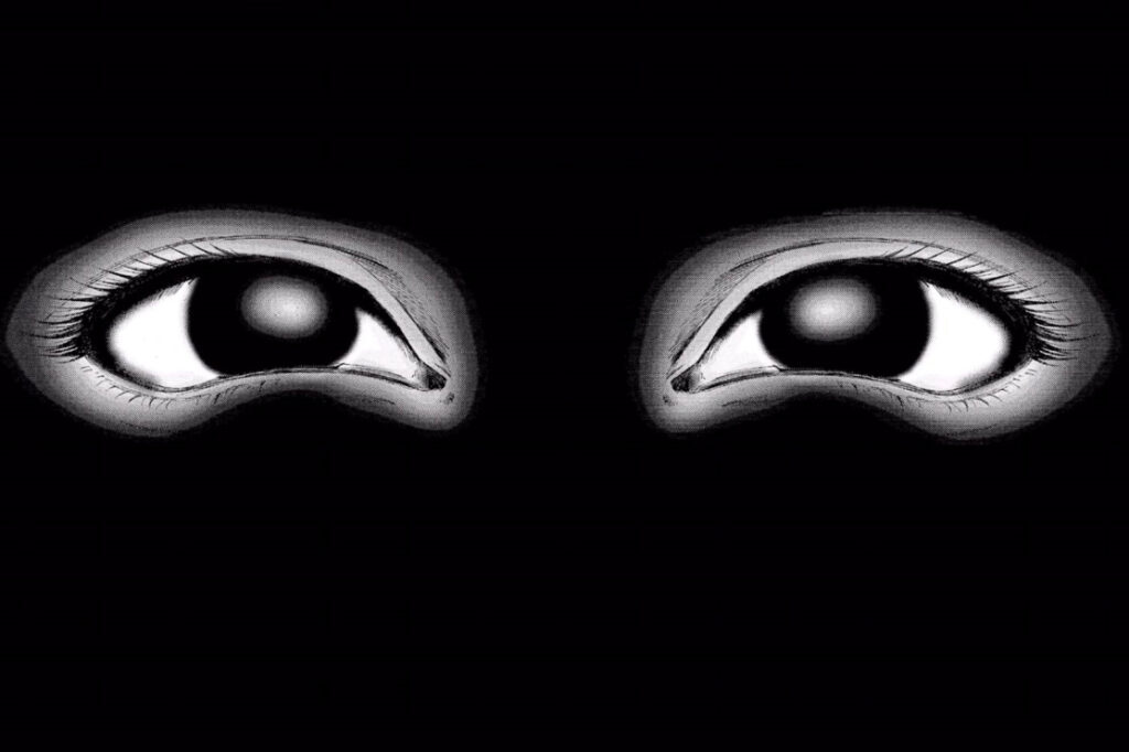 """特にあるシーンで使われる実写の""""目""""による恐怖演出は夜トイレに行けなくなること必至である。 漫画版にも、不意打ちで視覚的に驚かされる見開きでの""""目""""の恐怖演出があり、未プレイの読者にはトラウマを植えつけ、プレイ済みの読者のトラウマを抉った。"""