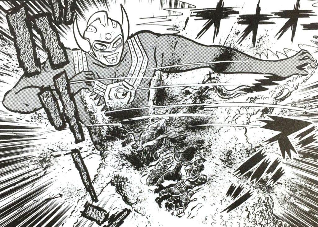怪獣を口から胴体まで引き裂く…ウルトラマンタロウの残虐ファイト