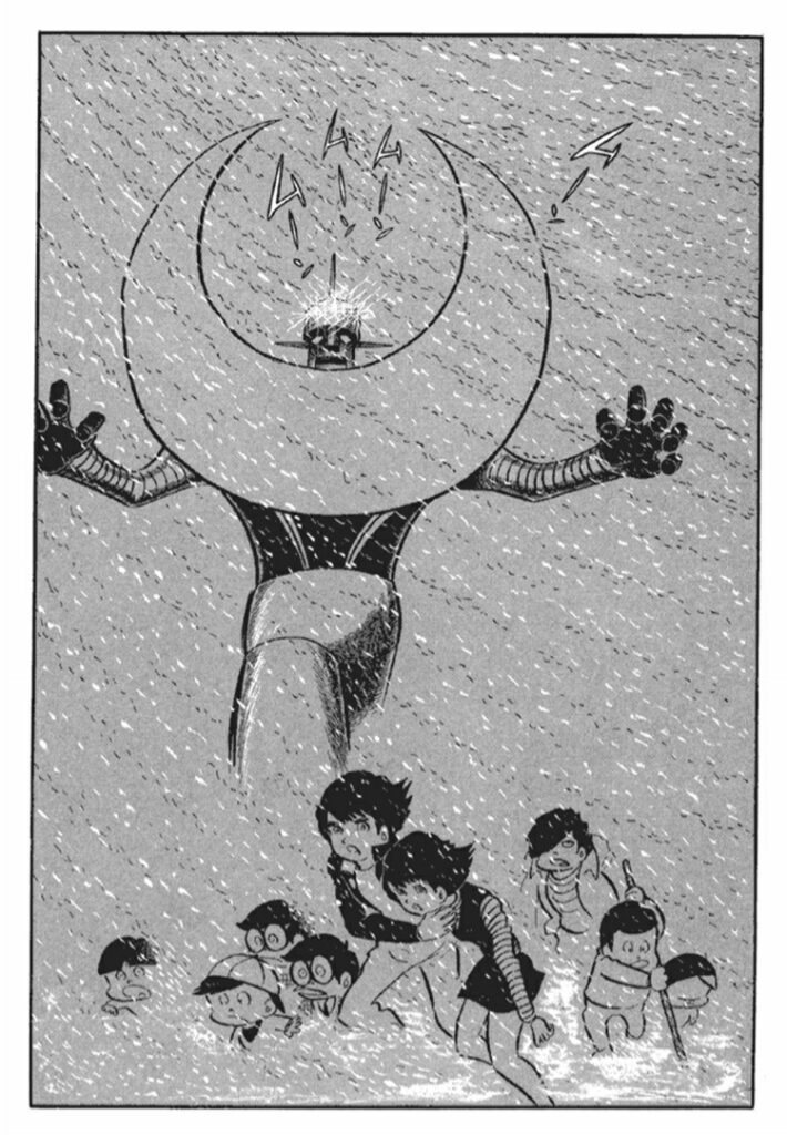九人の子供達はザ・ムーンを呼び起こし、カビ発生装置を破壊しようとするが、肝心の装置を目前に子供らは次々に倒れていく。