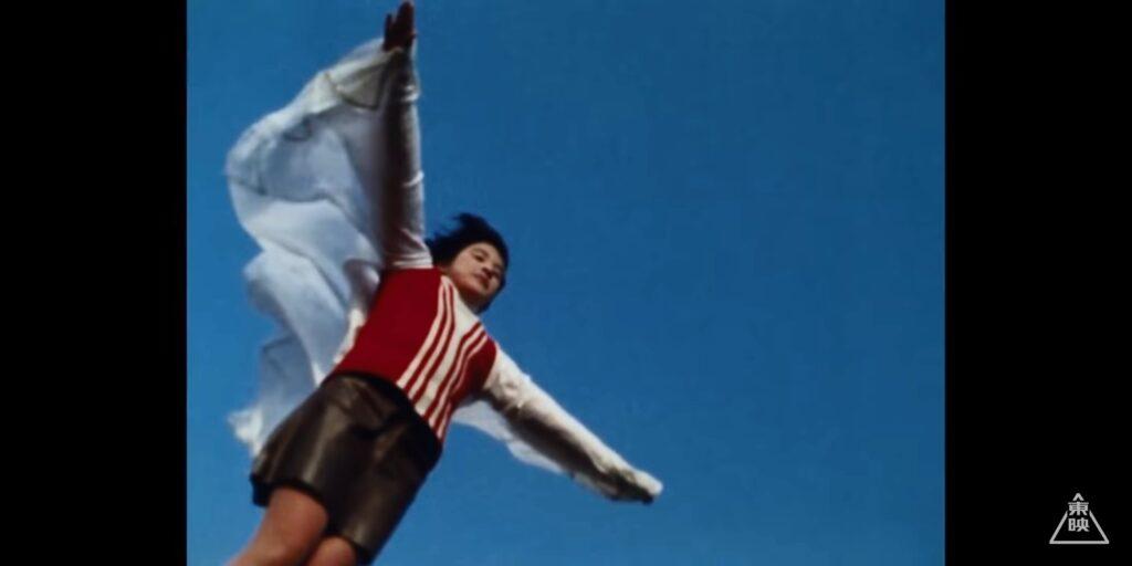 そして鉄塔から、ビルから、次々と飛び降りる少年少女たち。23人もの小中学生が飛び降りた。