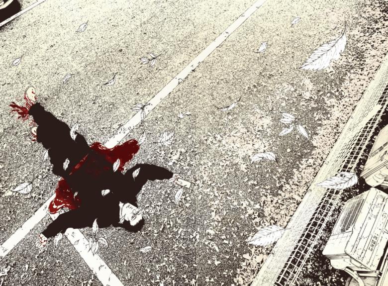 丑嶋は取り立て中に刺されて死亡…