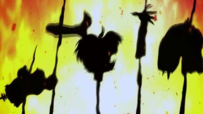 牧村美樹を守ろうとして駆け付けた不動明の目に入ったものは「明が悪魔ではないかと疑いを持った近所の住民が美樹を惨殺してその生首を槍の先に掲げて狂喜乱舞している」という地獄絵図であった。
