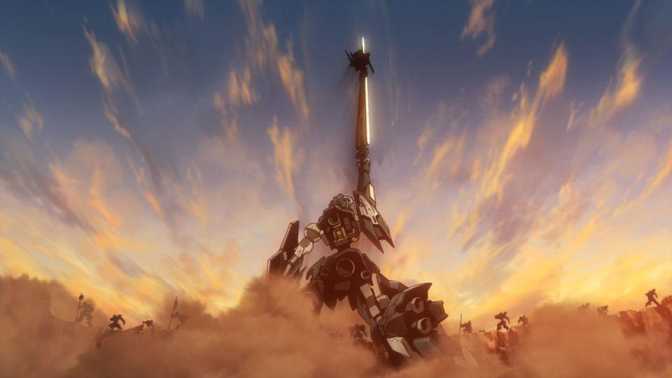 ラスタル・エリオンの威光のもとに、悪魔は討ち取られた!