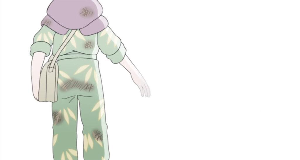 黒村晴美(くろむら はるみ)は、すずと一緒にいたところを時限爆弾の爆発に巻き込まれて死亡する。