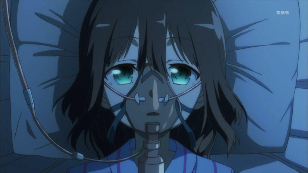 「満開」の後遺症で記憶を失った鷲尾須美(=東郷美森)(『鷲尾須美は勇者である(鷲尾須美の章)』第6話)