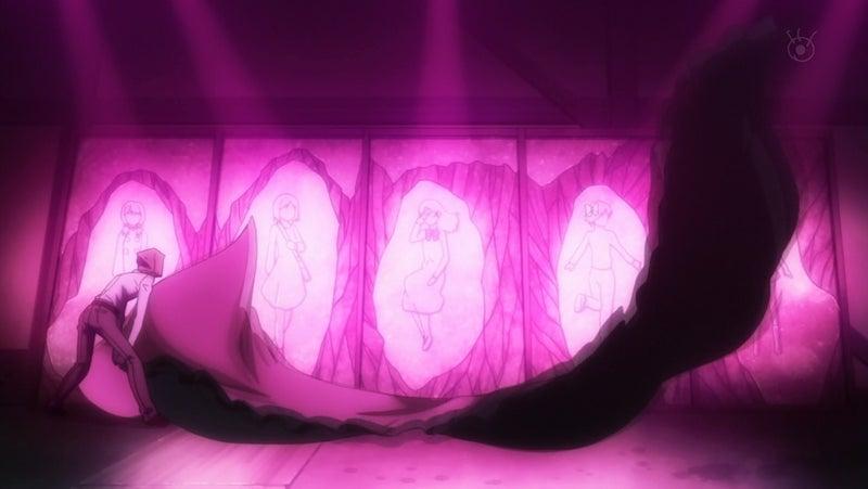 誘拐されて行方不明になっていた少女達は既にワタヌキによって命を奪われて壁に塗り固められていた(第3話「影男」)。