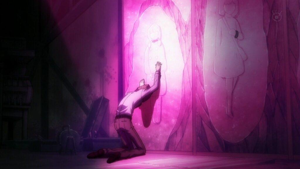 大曾根さち子は、すでにワタヌキに殺害され壁に塗り込まれていた(第3話「影男」)。