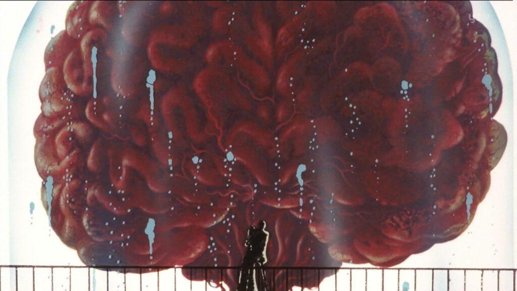 本体は130代目にあたる巨大な脳。自らのクローンを失ったマモーはロケットで宇宙に逃げようとするが、ルパンに阻まれ、遂に最期となる。