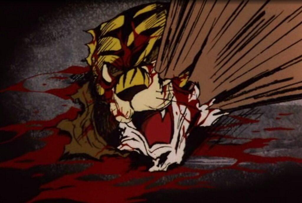 タイガー・ザ・グレートはタイガーマスクの顔面へ凶器攻撃する。非常に有名なトラウマシーン。 タイガーマスクは、タイガー・ザ・グレートの顔面への凶器攻撃を間一髪で避けるが、その時にマスクが完全に脱げてしまい、正体が伊達直人であることが白日の下に晒されてしまう。伊達直人の素顔がさらされるまでの一連の壮絶な流れは非常に有名なトラウマシーン。